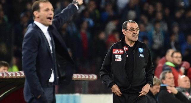 Sarri vs Allegri, da Scansopoli al calendario inopportuno: lo Scudetto si gioca a colpo di frecciate...