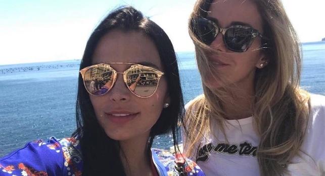 Lady Zuniga e l'amore per Napoli: fa visita all'ex moglie di Cavani [FOTO]