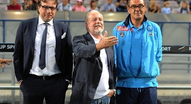 Sarri-Napoli, Il Mattino: il ritorno è un sogno! Sì solo per i tifosi e lo Scudetto, ma con Giuntoli