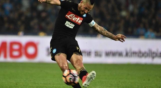 CdM - Il Napoli va di corsa, Hamsik il più veloce: nessuno come gli azzurri in A