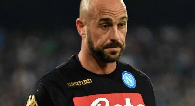 Napoli su Szczesny, Reina non la prende bene: ha già fatto sapere al club la sua decisione