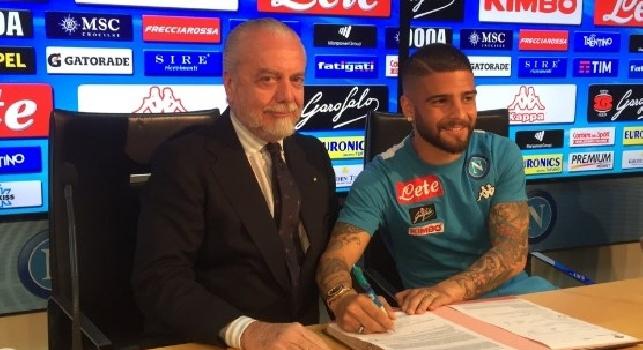 Insigne: Orgoglioso di aver rinnovato, Napoli è casa mia: ora voglio vincere. Papà? I miei compagni mi prendono in giro