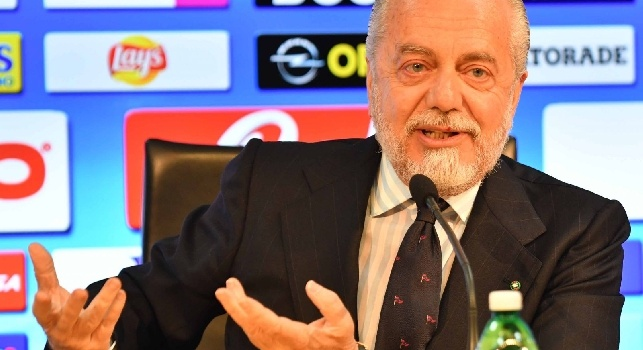 De Laurentiis promette: Prima o poi il super-scudetto lo vinceremo. Sui cinesi di Milan e Inter... [VIDEO]