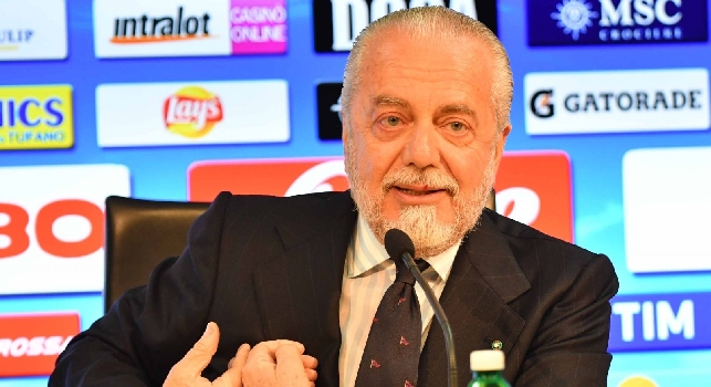 De Laurentiis in conferenza stampa