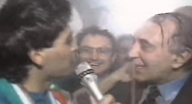 Ferlaino, l'ex moglie: Maradona suggerì due colpi di mercato a Corrado: si divertiva come un pazzo!