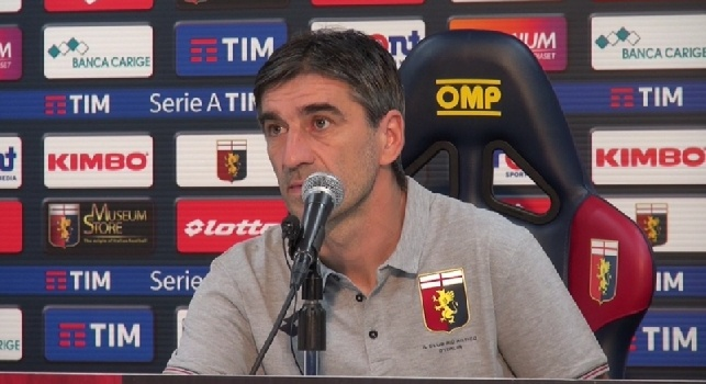 Ivan Juric in conferenza stampa