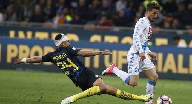 Fedele: Mertens non andrà in Cina: c'è un'offerta di 4mln a stagione dal Man Utd