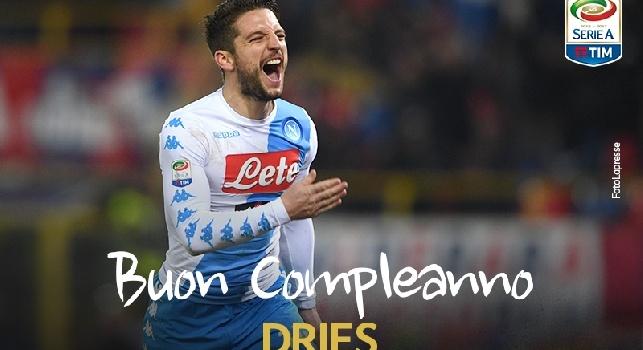 La Serie A omaggia Mertens: Oggi spegne 30 candeline, tanti auguri! [FOTO]