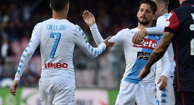 RAI - Mertens resta per un altro anno al Napoli, poi sarà addio con la clausola