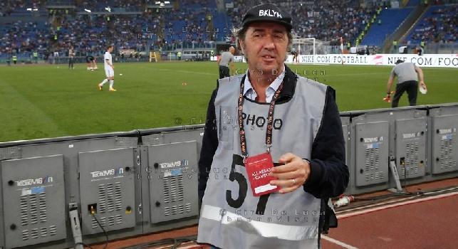 Paolo Sorrentino, il regista ingaggiato per vendere i diritti tv all'estero: primo blitz per Roma-Juve [FOTO]