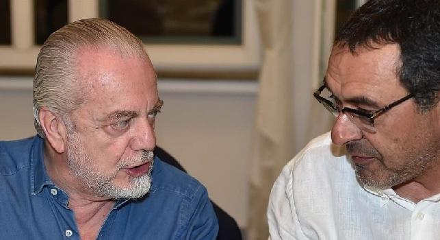 Sarri-De Laurentiis, martedì a Roma incontro per adeguamento contratto