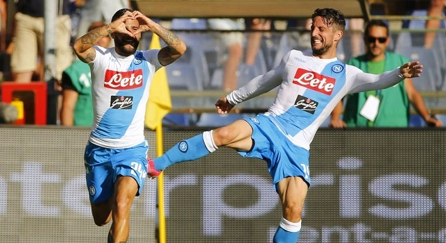 Sampdoria-Napoli, le pagelle: Insigne fa ammattire Puggioni, Hamsik rischia di copiare Mascara! Hamsik ammacca la cresta