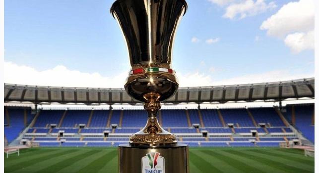 Tim Cup, sorteggiato il tabellone: Napoli agli ottavi con Juve e Roma, ecco le possibili avversarie [FOTO]