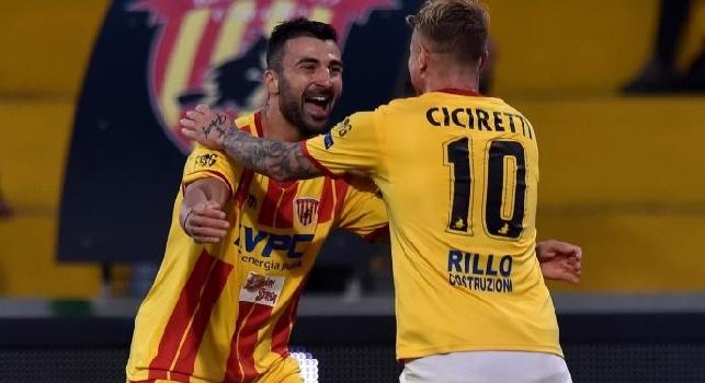 Da Benevento, Melillo: Baroni vuole giocarsela a viso aperto, nelle prossime ore si valuteranno le condizioni di Ciciretti