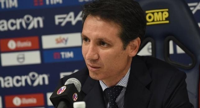 Bologna, Bigon: Cavani a Napoli mi ha detto che sarebbe andato al Real Madrid. Fernandez mio affare migliore, il colpo Verdi ti riesce una volta nella vita...
