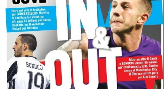 Prima Pagina TuttoSport: Contatti con Suso, scontro Milan-Inter! Juve, quinto colpo: preso Cancelo [FOTO]