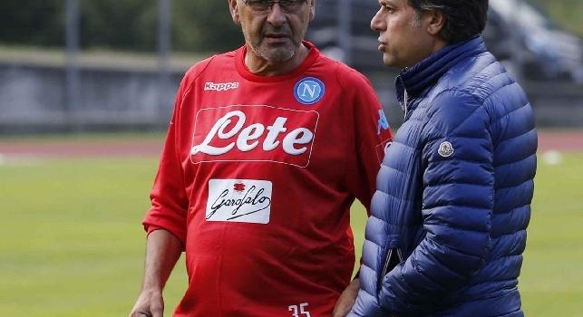 Il Roma - Sarri ha fatto richiesta a Giuntoli per uno svincolato: ha un'esigenza per gli allenamenti