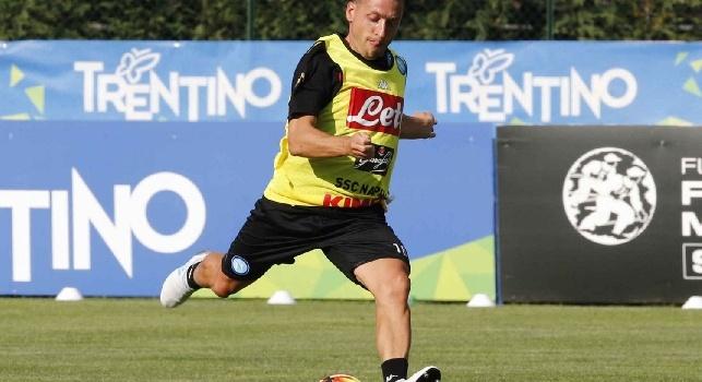 Emanuele Giaccherini, attaccante del Napoli