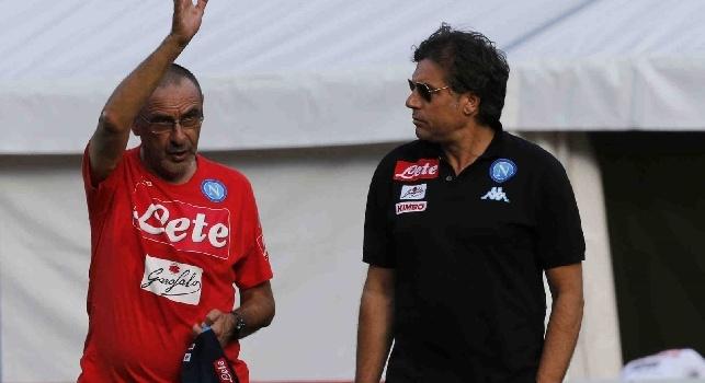 Maurizio Sarri e Cristiano Giuntoli