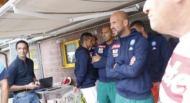 Pepe Reina, portiere del Napoli