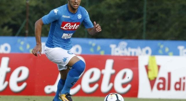 Adam Ounas, attaccante esterno del Napoli