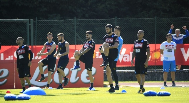 SSC Napoli a Dimaro: allenamento nella stagione 2018/19