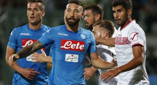 Ciro Immobile esulta con la maglia della Lazio