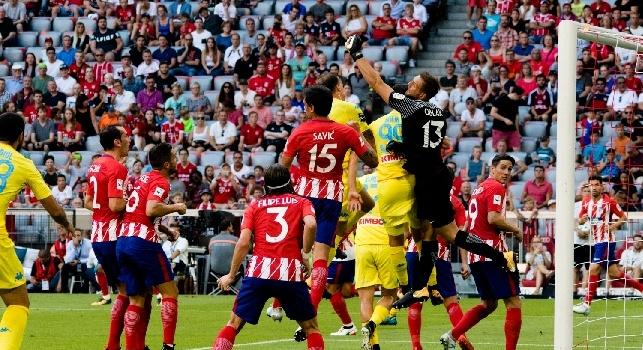 Audi Cup, Atletico Madrid-Napoli 2-1 (56' Callejon (N), 72' Torres (A), 81' Vietto (A))