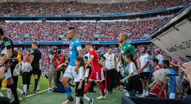 Bayern Monaco-Napoli 0-2 (Koulibaly 14', Giaccherini 55')