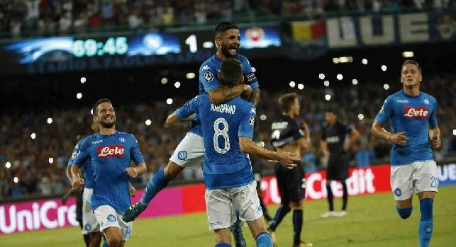 Napoli-Nizza, le pagelle: Mertens non si ferma mai, Jorginho mette la firma! Albiol-Koulibaly muri, Insigne sbatte sul Cardinale