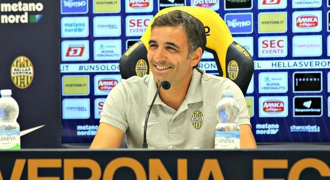 Fabio Pecchia, tecnico del Verona