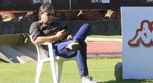 Cristiano Giuntoli, attuale direttore sportivo del Napoli