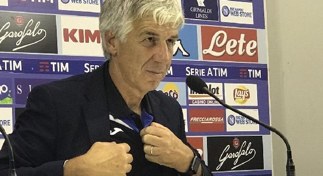 Atalanta, Gasperini in conferenza: Potevamo fare il secondo gol! Zielinski ha cambiato l'inerzia del match. Guardiola ha ragione, in Europa pochi come il Napoli!