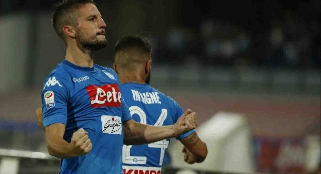 Mertens torna titolare contro il Benevento