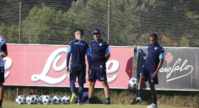 CorSport - Napoli in gran forma nonostante le vacanze, domani doppia seduta d'allenamento