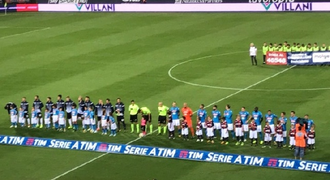 RILEGGI LIVE - Bologna-Napoli 0-3 (66' Callejon, 83' Mertens, 88' Zielinski): finita! troppa fatica, ma alla fine gli azzurri dilagano