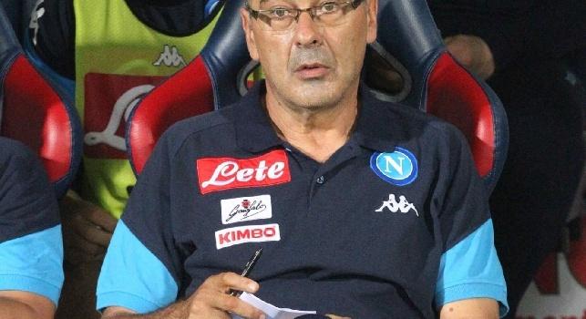 Agresti: Ci aspettavamo qualcosa in più dal Napoli, Sarri può optare anche per il 4-2-3-1 dal primo minuto
