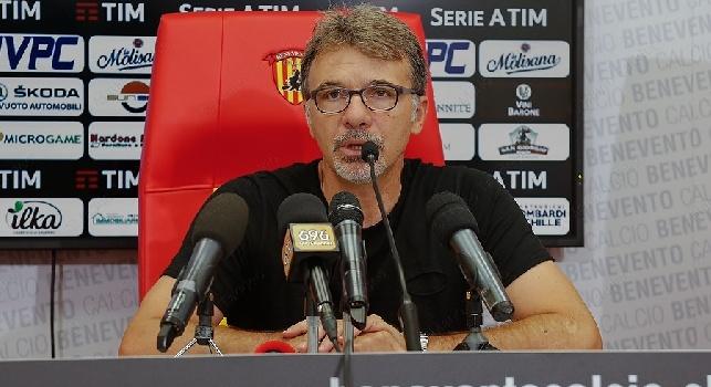 Marco Baroni, foto sito ufficiale Benevento Calcio