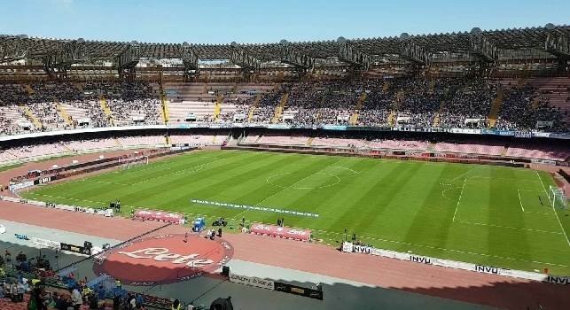 Diretta Napoli - Benevento