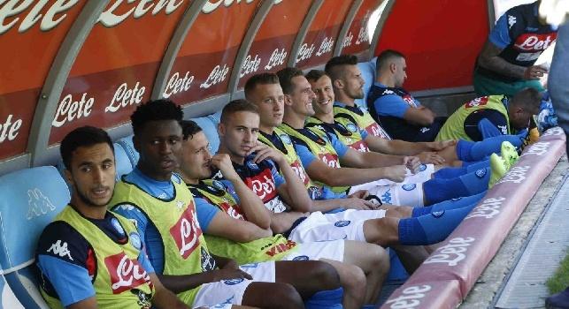 UFFICIALE - Napoli-Shakhtar, Sarri manda 2 azzurri in tribuna