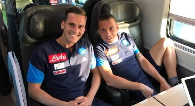 Lazio-Napoli, rifinitura nella mattinata a Castel Volturno poi partenza per Roma in treno: i dettagli