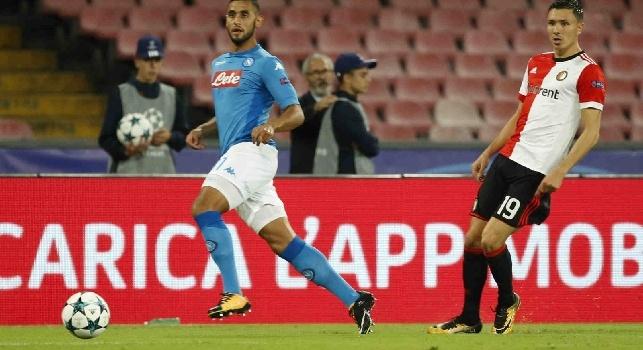 Ghoulam, il fratello a Crc: Faouzi è orgoglioso di aver rinnovato con il Napoli, vuole vincere in azzurro!