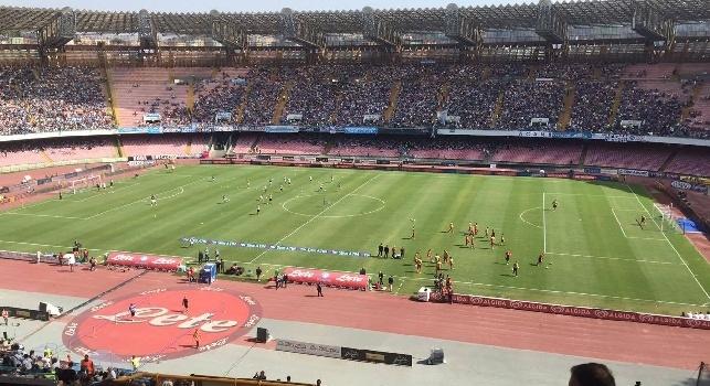 Napoli - Fiorentina, i tifosi si stringono intorno a Sarri e squadra. Previsto un bel colpo d'occhio: il dato
