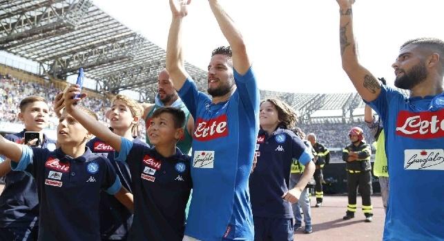 La fotogallery di CalcioNapoli24 per Napoli - Cagliari