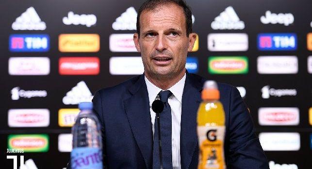 Massimiliano Allegri (Juventus) in conferenza stampa