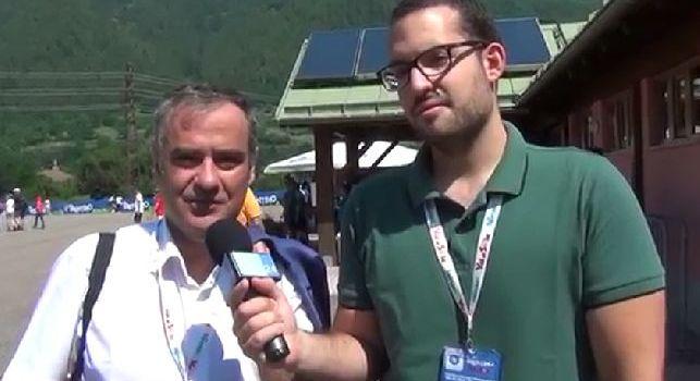 Paolo Del Genio in diretta a CalcioNapoli24