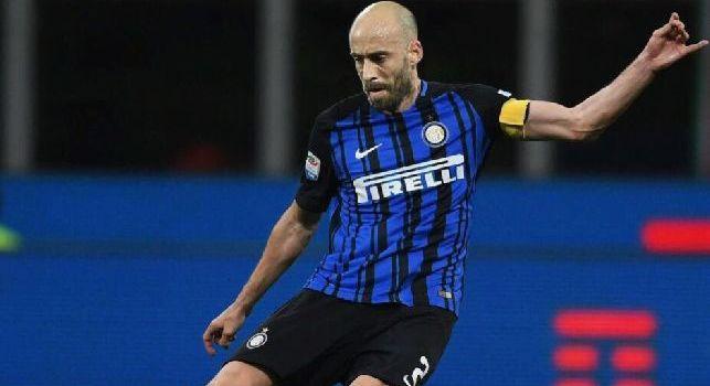 Inter, Borja Valero: Partita importante, vogliamo battere il Napoli anche non giocando bene