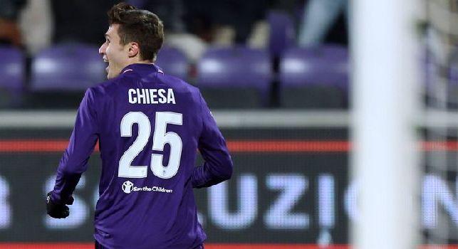 Calciomercato Juve, offerta importante per Federico Chiesa della Fiorentina
