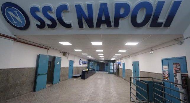 Spogliatoi San Paolo, i dettagli del CorSport: regna il caos con pareti da completare, sale mediche da rifinire e pavimento da lucidare