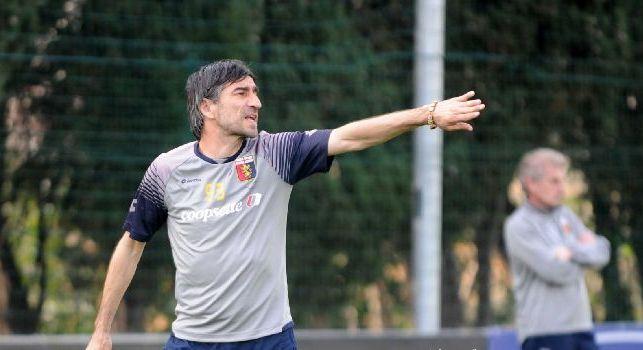 Genoa, Juric ne convoca 25 per il Napoli: out Favilli, Marchetti, Sandro e Spolli